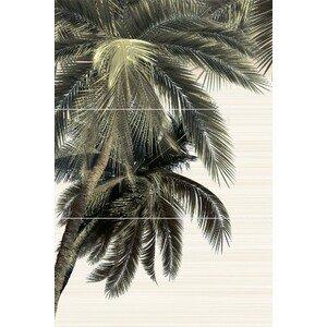 панно Уралкерамика Дель Маре из 3х плиток пальма левая ПН9ДМ3